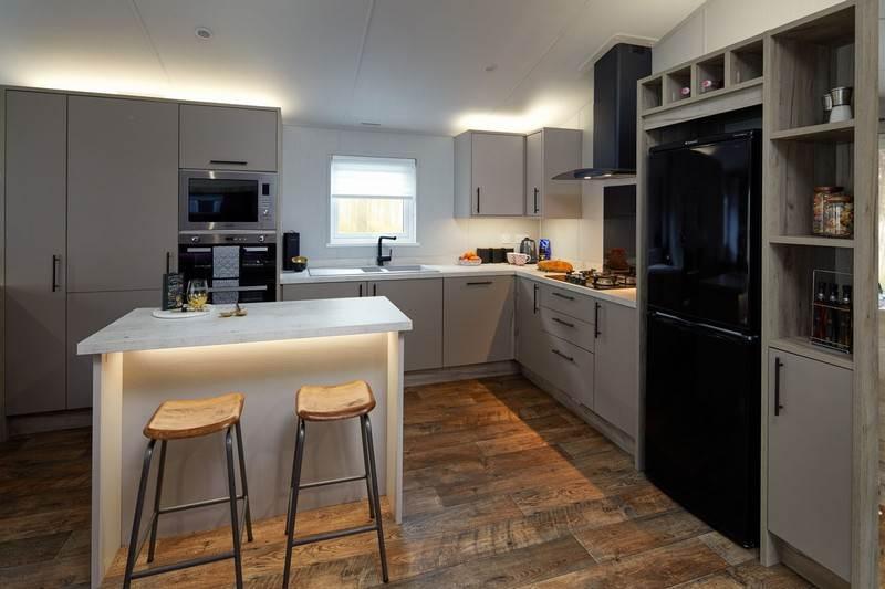 Mapleton Holiday Lodge Kitchen