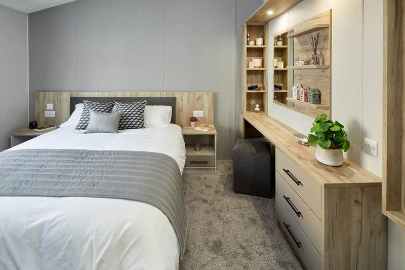 Willerby Mapleton Holiday Lodge Bedroom